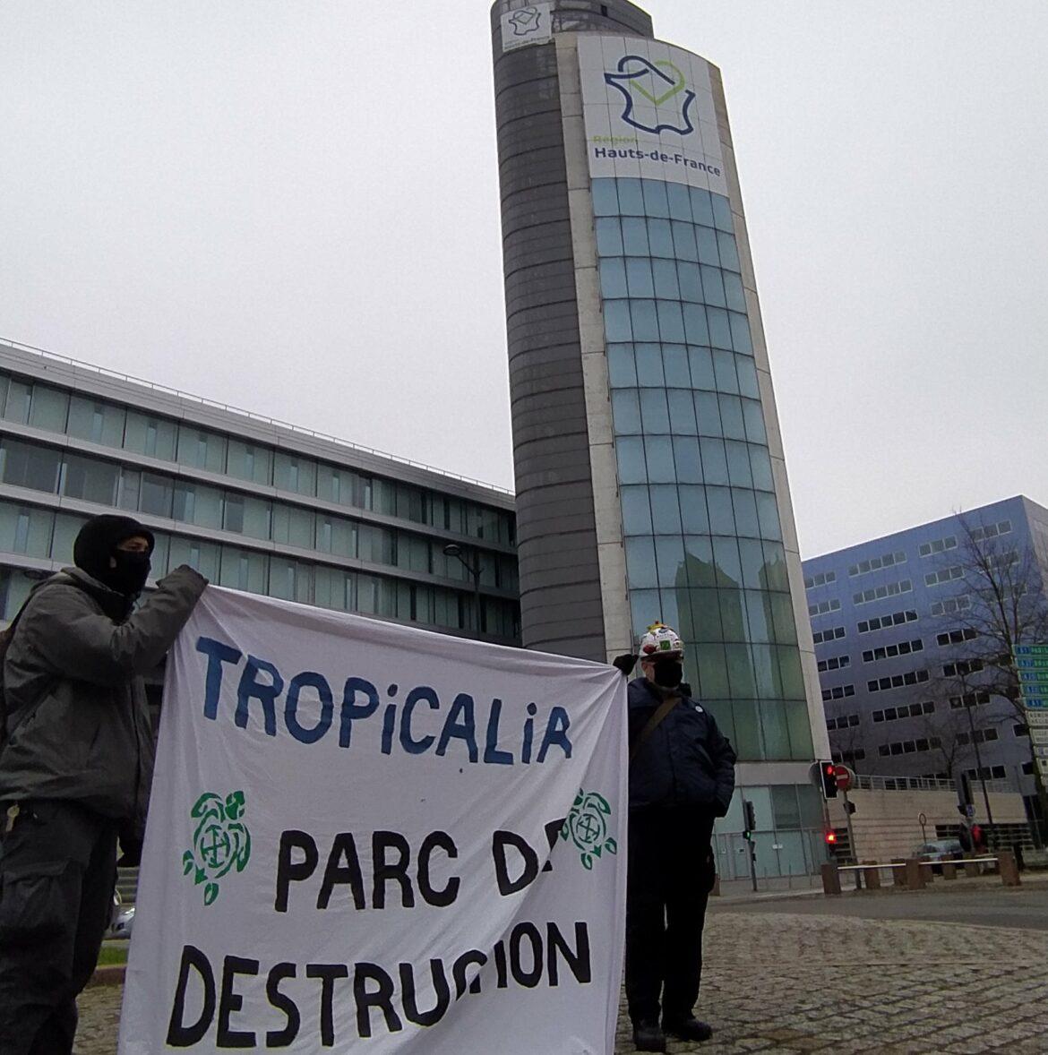 Samedi 23 janvier 2021 : Déclaration d' Extinction Rebellion Hauts-de-France à Lille