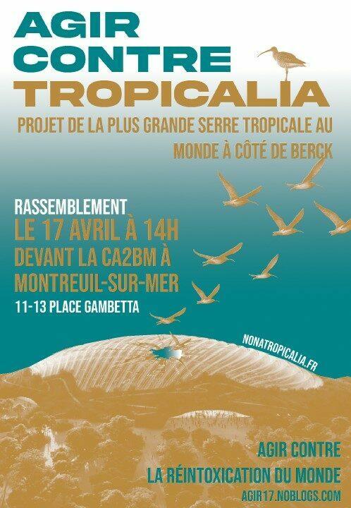 Bienvenue au Collectif Lillois contre Tropicalia !