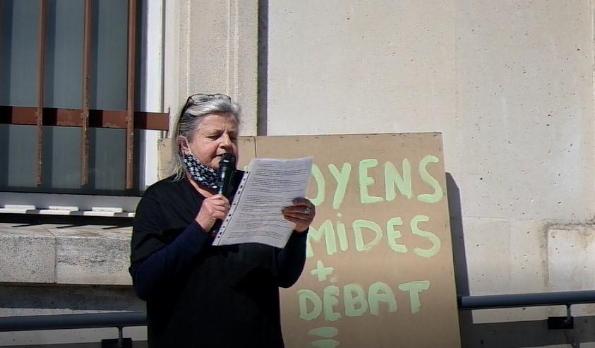 Intervention de Mariette Vanbrugghe, Présidente du GDEAM