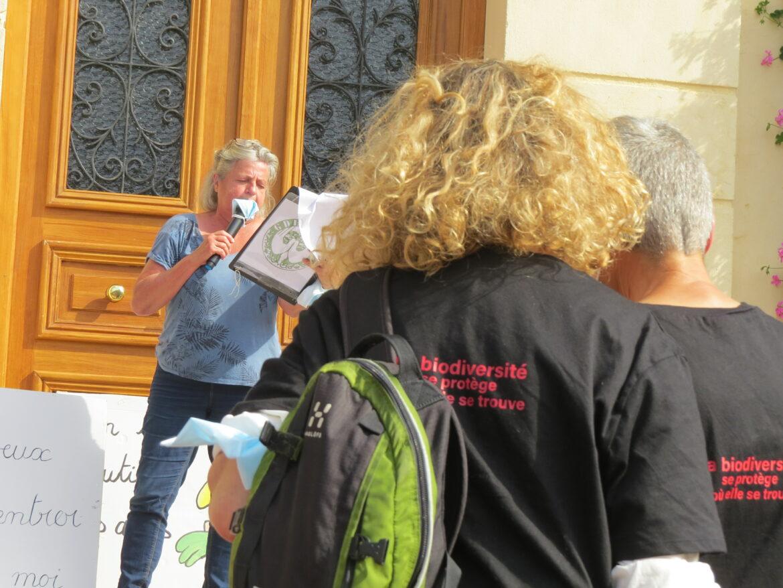 Discours de Mariette Vanbrugghe, présidente du GDEAM. Un discours riche en informations , prenez le temps de l'écouter !!