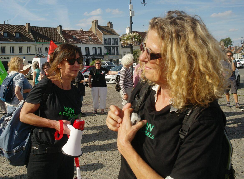 Déclaration du collectif lors de la 4eme vague contre Tropicalia, par Catherine et Hélène